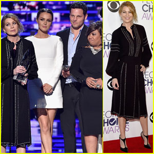 Ellen Pompeo & 'Grey's Anatomy' Cast Win Favorite Network TV Drama