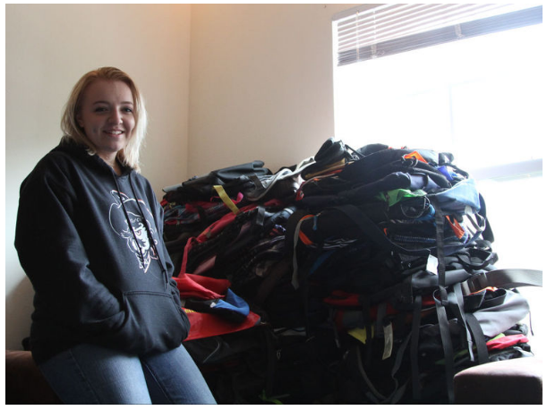 Backpacks Filled For Thousands Of Homeless