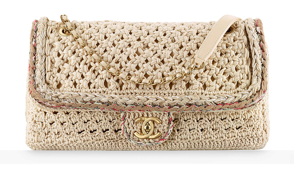 Chanel Crochet Flap Bag