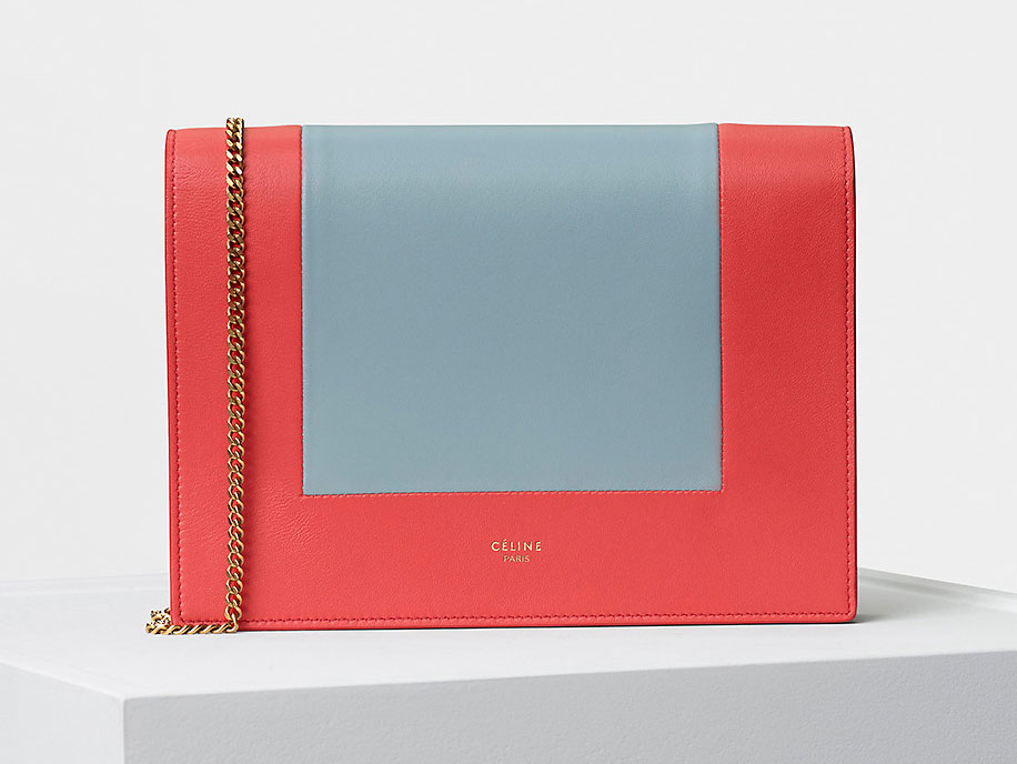 Céline Frame Evening Clutch on Chain