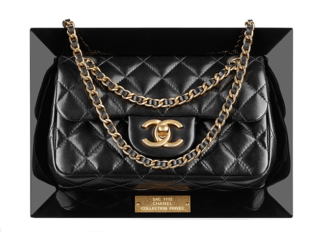 Chanel Framed Flap Bag Clutch