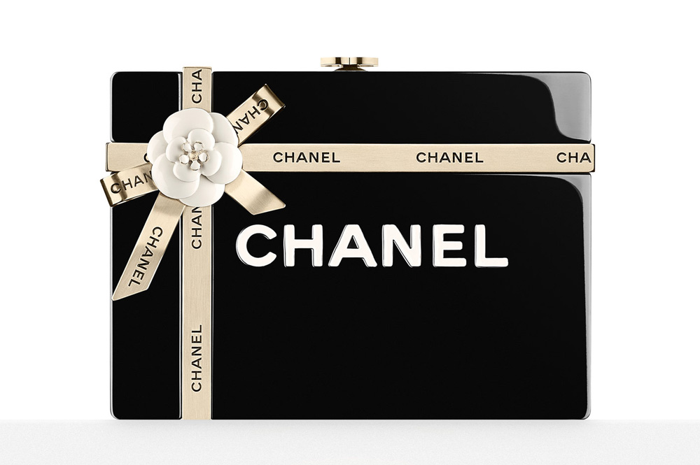 Chanel Gift Box Evening Bag