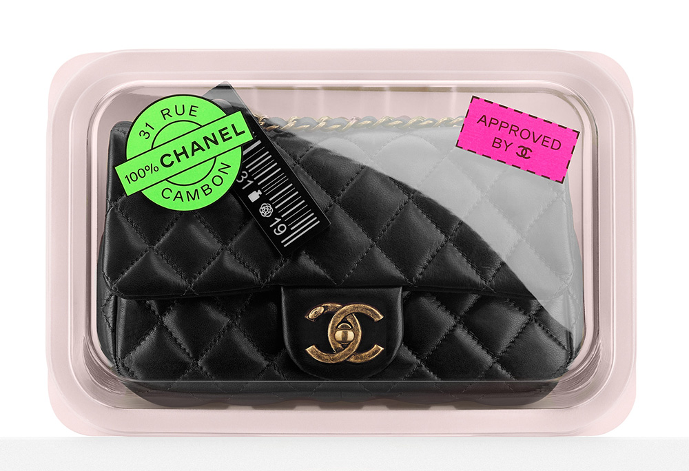 Chanel Meat Package Flap Bag