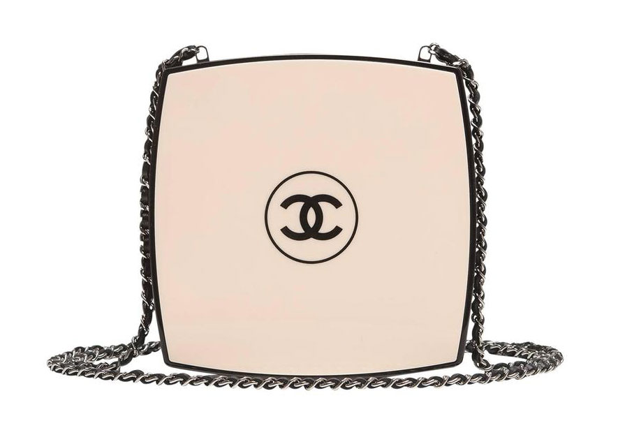 Chanel Powder Compact Clutch